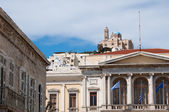 City Hall of Ermoupolis, Syros Island (Greece) — Stock Photo