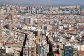 Panoramic view of Alicante (Spain) — Stock Photo