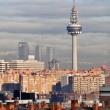 Panoramic view of Madrid from Vallecas (Spain) — Stock Photo
