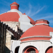 Dome of Immaculate Conception Jesuit Church, Oaxaca (Mexico) - Stock Photo
