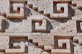 Glyph in archaeological site of Mitla, Oaxaca (Mexico) — Stock Photo