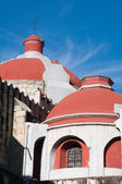 Dome of Immaculate Conception Jesuit Church, Oaxaca (Mexico) — Stock Photo
