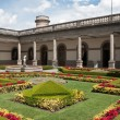 Courtyard of Chapultepec castle, Mexico city — Stock Photo