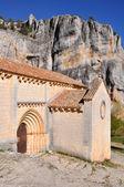 San bartolome hermitage, lobos river canyon, soria (i̇spanya) — Stok fotoğraf