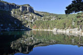 Laguna Negra, glacial lake in Soria (Spain) — Stock Photo