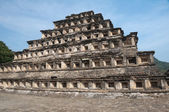 Pyramid of the Niches, El Tajin (Mexico) — Foto de Stock