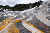 Orako Korakei geothermal park in Rotorua, New Zealand — Stock Photo