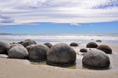 Moeraki Boulders, New Zealand — Stock Photo