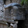Lycian tomb in Olympos (Turkey) — Stock Photo