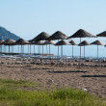 Beach at Cirali, the Turkish Riviera (Turkey) — Stock Photo
