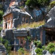 Lycian tombs in Myra, Demre (Turkey) — Stock Photo #26517959