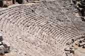 Ancient amphitheater in Myra (Turkey) — Stock Photo