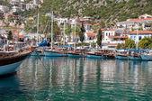 Harbor of Kas (Turkey) — Stock Photo