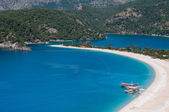 Oludeniz beach, Fethiye (Turkey) — Stock Photo