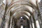Lägre kyrkan av Kayakoy ghost town (Turkiet) — Stockfoto