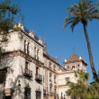 Historic Alfonso XIII Hotel, built between 1916-1928 in Seville (Spain) — Stock Photo