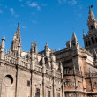 Stock Photo: Cathedral of Seville (Spain)