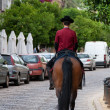 Jockey of Royal Stables in Cordoba, Spain — Stock Photo