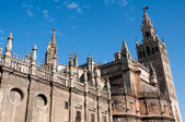 Cathedral of Seville (Spain) — Stock Photo