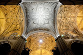 Interior of Cathedral of Seville, Andalusia (Spain) — Stock Photo