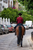 Jockey of Royal Stables in Cordoba, Spain — Stockfoto