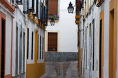 Alley in downtown of Cordoba (Spain) — Stock Photo