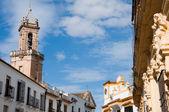 教会のサン アンドレス レアレホ通り、コルドバ (スペイン) — ストック写真