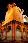 Church-fortress of San Nicolas, Pamplona (Spain) — Stock Photo