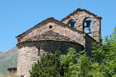Romanesque church of Sant Quirc, Vall de Boi (Spain) — Stock Photo