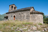 Romanesque church of Sant Quirc, Durro in Vall de Boi (Spain) — Stock Photo
