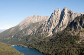 Sant Maurici Lake lookout, Aiguestortes and Sant Maurici NP — Stock Photo