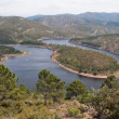 Meander of the Alagon River, Extremadura (Spain) — Stock Photo