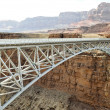 Navajo Bridge - Steel Arch Bridge over Colorado River, Arizona — Stock Photo