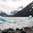Stock Photo: Portage lake with iceberg, Alaska