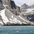 Bow Lake in Spring, Rocky Mountains (Canada) — Stock Photo #31485761