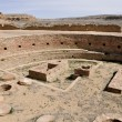 Chetro Ketl, Great Kiva ruins, Chaco Canyon, New Mexico (USA) — Stock Photo