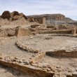 Pueblo del Arroyo ruins, Chaco Canyon, New Mexico (USA) — Stock Photo