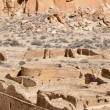 Pueblo Bonito ruins, Chaco Canyon, New Mexico (USA) — Stock Photo