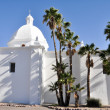 Stock Photo: Immaculate Conception Church, Ajo, Arizon(USA)