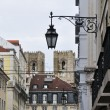 Stock Photo: Neighborhood of Baixa, Libon (Portugal)