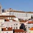 Alfama neighborhood and Monastery of Sao Vicente de Fora, Lisbon — Stock Photo #38175591