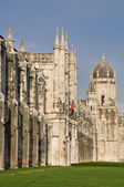 Hieronymites Monastery, Belem district of Lisbon, Portugal — Foto Stock