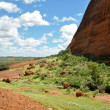 Walpa Gorge in The Olgas, Australia — Stock Photo #38790003