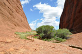 Walpa Gorge in The Olgas, Australia — Stock Photo