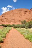 Valley of the Winds Walk, The Olgas, Australia — Stock Photo