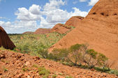 Valley of the Winds, The Olgas, Australia — Stock Photo