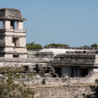Stock Photo: Tower of palace,ancient Maycity of Palenque (Mexico)