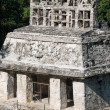 Stock Photo: Temple of Sun at Mayruins of Palenque in Mexico