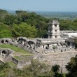 Stock Photo: Palace,ancient Maycity of Palenque (Mexico)