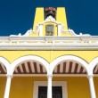 Campeche Public State Library, historical building (Mexico) — Stock Photo